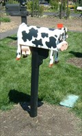 Image for Holstein Cow Mailbox - St. Louis