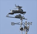 Image for McHenry Mansion Leaping Stag Weathervane