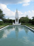 Image for Hindu Temple, Wishing Pool and Garden of Meditation; Florida Southern College - Lakeland, FL