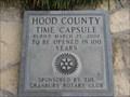 Image for Hood County Time Capsule - Granbury, TX