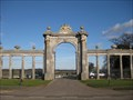 Image for Gate Screen - Towcester Racecourse, Easton Neston, Northamptonshire, UK