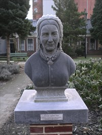 Vrouwe Ludewé Vink, Founder of the Pieternella Gasthuis, died 26 september 1877