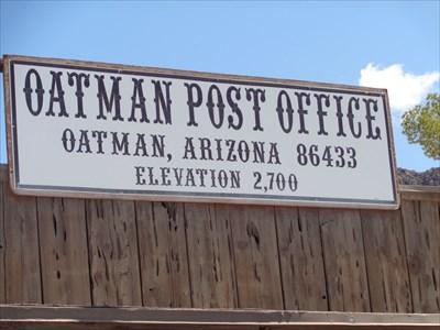 Oatman, Arizona ~ 2700 Feet.