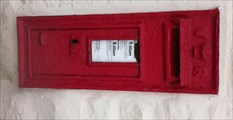 Image for Victorian Post Box - Barton, Warwickshire, UK