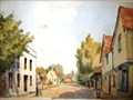 "Image for ""Much Hadham Herts 1952"" by Paul Smyth – High St, Much Hadham, Herts, UK"