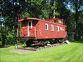 Image for Central Vermont Railway #4009 as B&M Caboose - Swanton Vermont