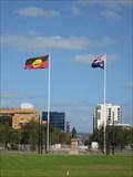 Image for Australian Aboriginal Flag - Victoria Square, Adelaide SA
