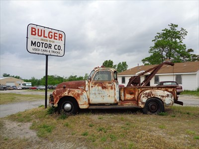 Tow Mater - Route 66