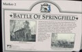 Image for Battle of Springfield Marker #2 - Springfield, Missouri