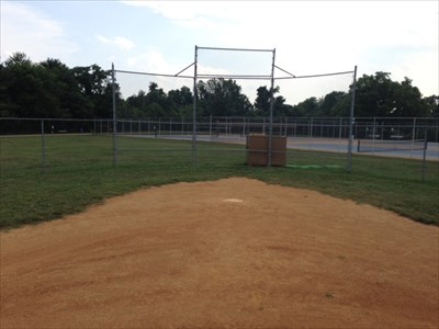 Mound View of Home Plate, Falmouth, Virginia