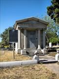 Image for Driscoll Family Mausoleum - Alamo Masonic Cemetery, San Antonio, TX