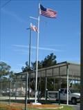 Image for U.S. Coast Guard Auxiliary Flag Pole - Jacksonville Beach, FL