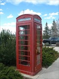 Image for Restored London Phone Booth - Evanston, WY