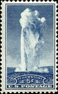 Image for 5¢ Stamp of Old Faithful - Yellowstone National Park, WY