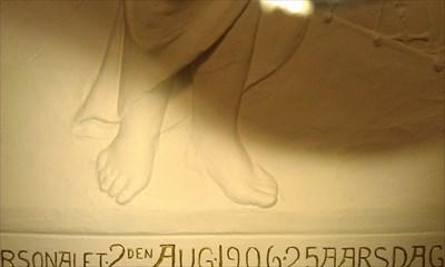 De store fødder!