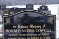 Image for Ronald Arthur Cowgill - Farmer, Kirk Balk Cemetery, Hoyland. Barnsley, UK.