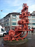 Image for Train-Sculpture - Bad Cannstatt, Germany, BW