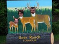Image for Deer Family Cutout - St. Ignace, Michigan