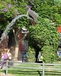 Image for Stegosaurus - Fountain - Santa Monica, California, USA.