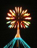 Image for Quayside Fireworks Tree. Napier. New Zealand.