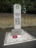 Image for World War II Memorial - Somersham, England