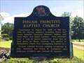 Image for Pisgah Primitive Baptist Church - Grady, AL