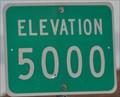 Image for Arizona Highway 64 ~ Elevation 5000