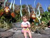 My daughter, MegaD in front of Nemo at The Living Seas.