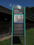 Image for Hanka Homestead Marker – rural Embarrass, MN