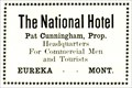 Image for National Hotel - Eureka, MT