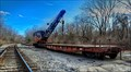 Image for Crane and Flat Car - Millville MA