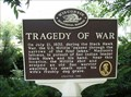 Image for Tragedy of War Historical Marker
