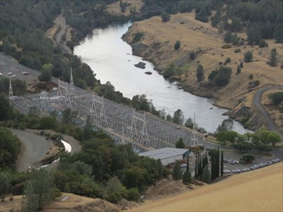 Electric Station, Looking NW, Oroville, California