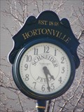 Image for Hortonville Village Clock - Hortonville, WI, USA