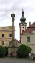 Image for Plague column / Morovy Sloup, Nova Bystrice, Czech Republic