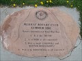 Image for Murray Park Rotary Club Marker - Murray, UT, USA