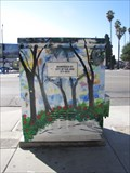 Image for Sycamores and Roses Utility Box - San Jose, CA
