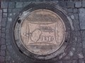 Image for 'Betten-Farion' Manhole Cover Marktplatz Reutlingen, Germany, BW