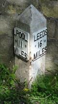 Image for Leeds Liverpool Canal milestone – Bingley, UK