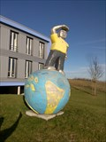 Image for Earth Globe Wolfsberg, Nagold, Germany, BW