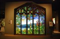 Image for Tiffany Window with Hudson River Landscape - Corning Museum of Glass - Corning, NY