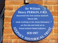 Image for Sir William Henry Perkin - Cable Street, London, UK