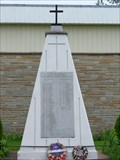 Image for Royal Canadian Legion, Branch #419, and memorial