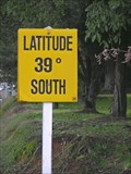 Image for Latitude 39° South.  Owhango.  North Is. New Zealand.