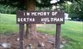 Image for Bertha Hultman - Klamath Falls, OR