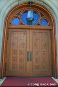 Image for Holy Trinity Catholic Church Doors - Trinidad, CO