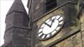 Image for St. Andrew's church clock – Oakenshaw, UK