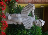 Image for Little boy with Concertina - Dudweiler, Saarland, Germany