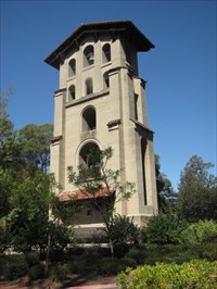 El Campanil from Back Right, Mills College, Oakland, CA