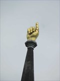 Image for Gold Hand Pointing to Heaven - Port Gibson, MS